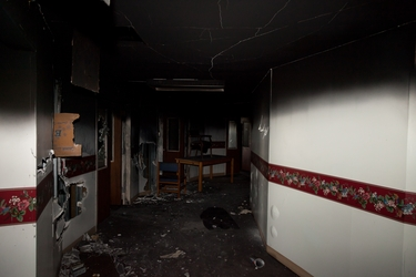 5th Floor Fire Damage 2