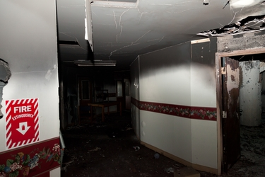 5th Floor Fire Damage