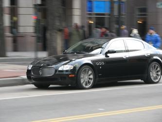 A Wild Maserati Appears