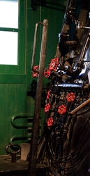 Train Engine Room