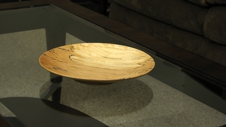 Bowl on Glass Table