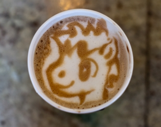 Cup O Joe - Foal Papers Latte Art