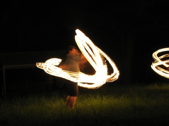 Beltane Fire Spinners