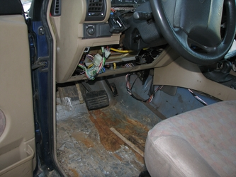 Floor Rust (Driver Footwell)