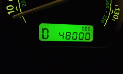 Odometer (48000)