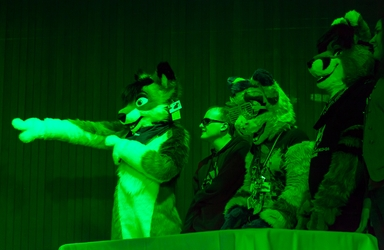 Furry Feud In Green