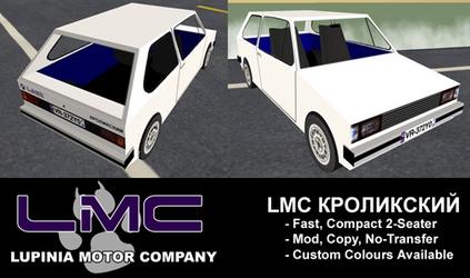 LMC Cars:  Kroliksky