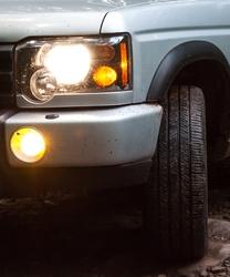 Muddy Headlight