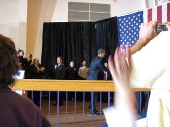 Obama Arrives