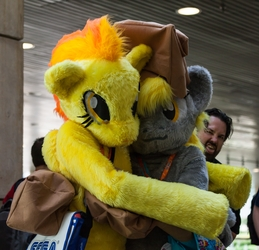 Pony Hugs!  Featuring Larson