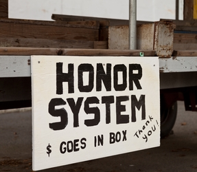 Produce Stand - Honor System