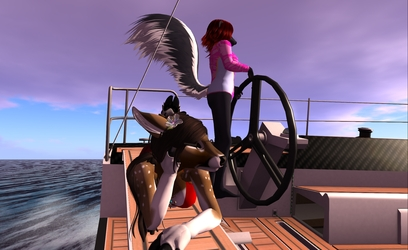 Sailing With Vulpina