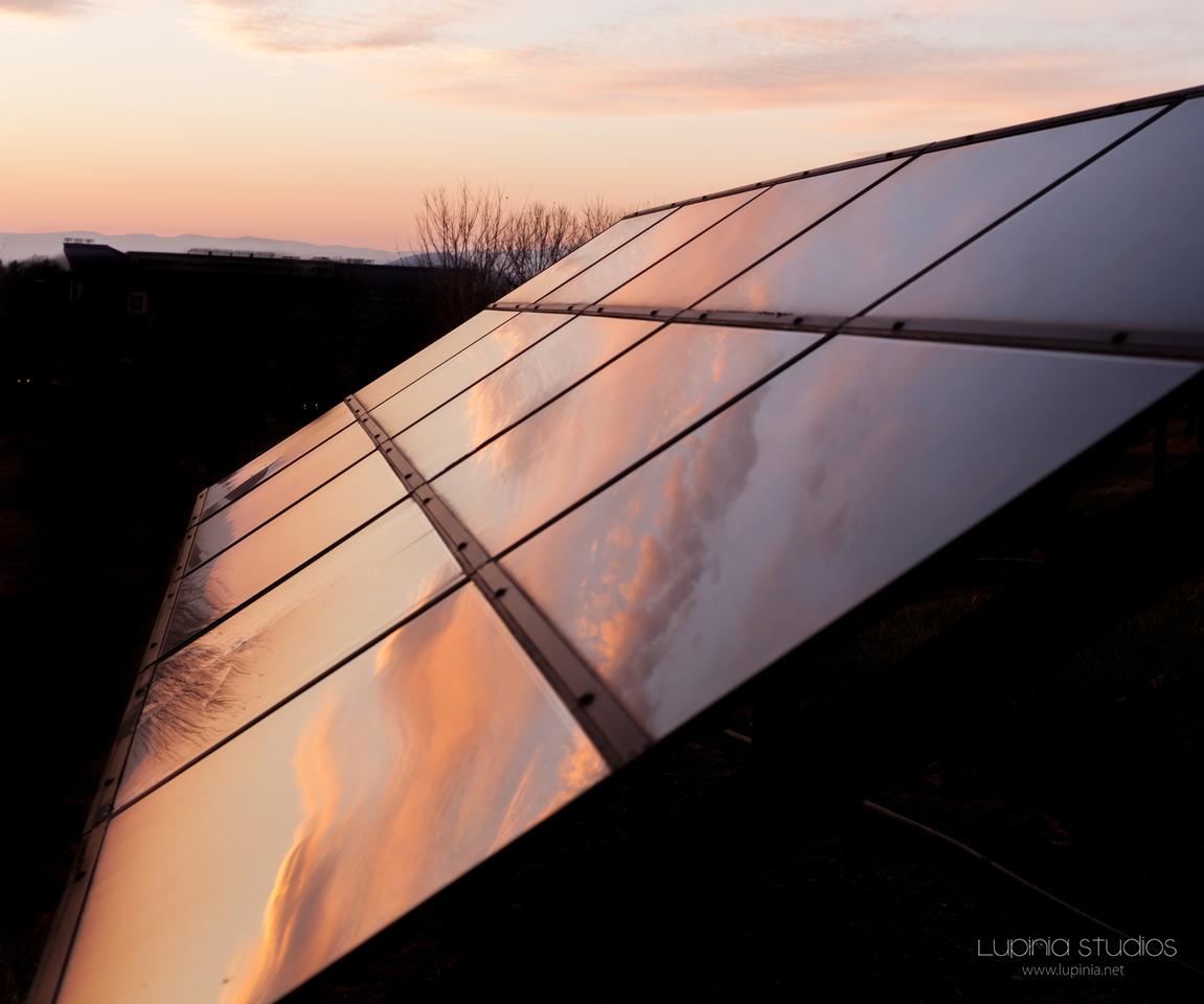 Solar-Powered Sunset