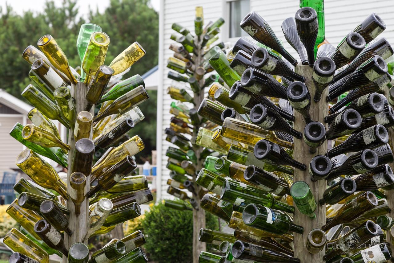 Stockton Bottle Trees