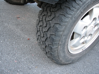 Tire Detail (Front Left)