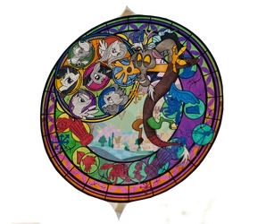 Travelling Pony Museum - Stained Glass 1
