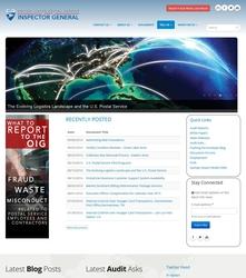 USPSOIG.gov Rebuild - Homepage (Top)