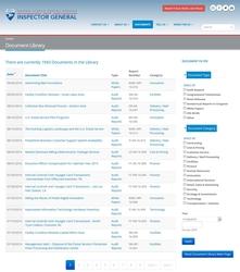 USPSOIG.gov Rebuild - Document Library