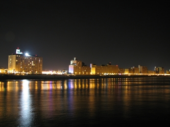 Midnight Coastline