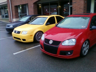 Mk5 Golf and Jetta