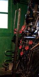 Train Engine Room