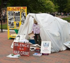 Anti-Nuke Tent