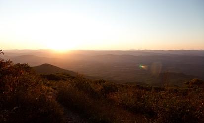 Autumn WV Sunset
