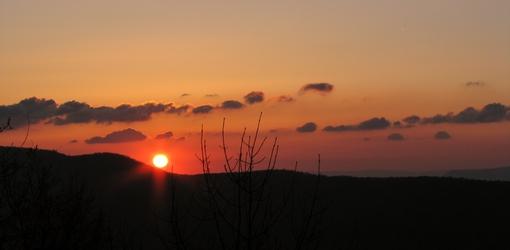 Big Schloss Sunrise