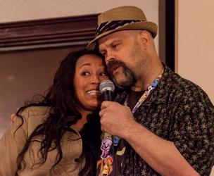 Brenda Crichlow and Dustykat Sing