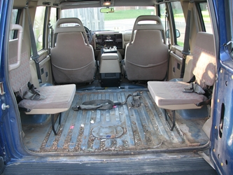 Cargo Area (With Jump Seats)