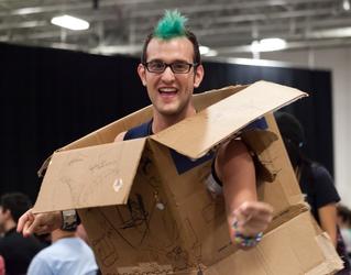 Dancing Box Guy