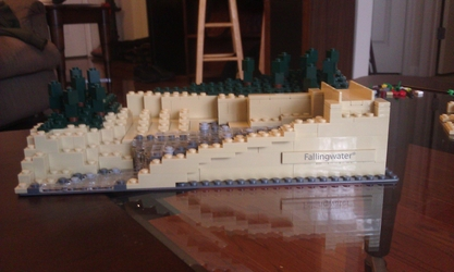 Fallingwater In Progress