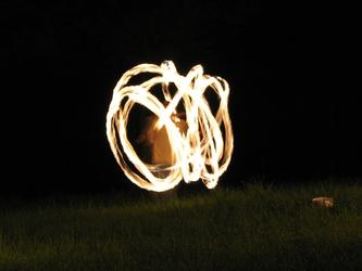 Beltane Fire Spinners