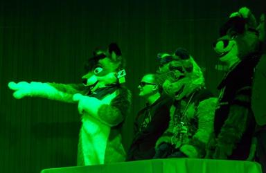 Furry Feud In Green