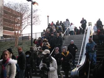 Entering the Metro