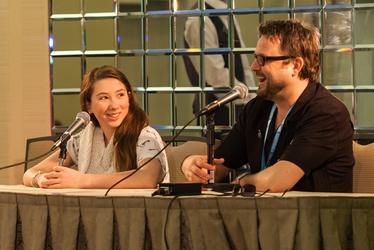 Michelle Creber and Lee Tockar