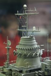 Model Aircraft Carrier - Instrument Tower