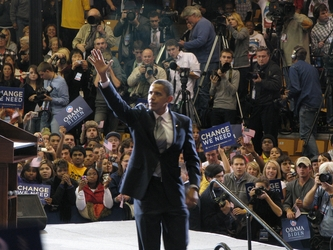 Obama Departs