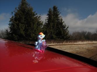 Rainbow Dash Off-Roading