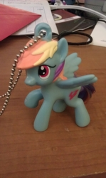 Rearview Mirror Rainbow Dash