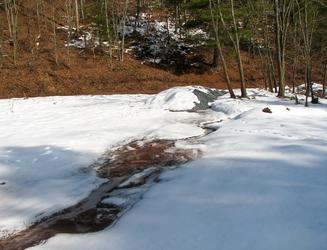 Icy Run-Off
