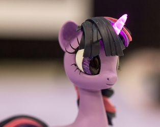 Twilight's Horn Glows