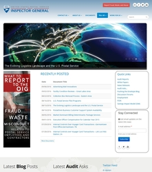 USPSOIG.gov Rebuild - Homepage (Top)