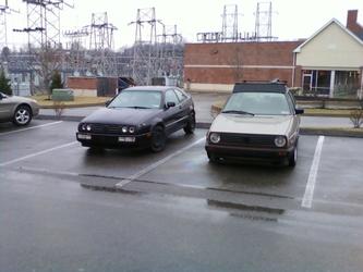 Mk2 Golf and Corrado